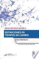 libro Ideas En Educación Ii