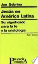 libro Jesús En América Latina