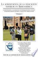 libro La Acreditacion De La Educacion Superior En Iberoamerica: La Gestion De La Calidad De Los Programas Educativos