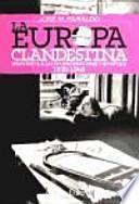 libro La Europa Clandestina