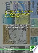 libro La Lírica En La Materia De Lengua Castellana Y Literatura