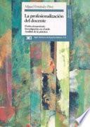 libro La Profesionalización Del Docente