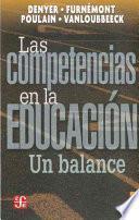 libro Las Competencias En La Educacion. Un Balance