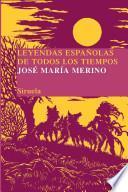 libro Leyendas Españolas De Todos Los Tiempos