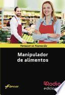 libro Manipulador De Alimentos