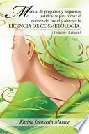 libro Manual De Preguntas Y Respuestas Justificadas Para Tomar El Examen Del Board Y Obtener La Licencia De Cosmetologa