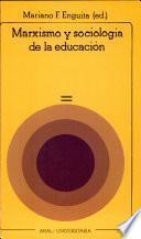 libro Marxismo Y Sociología De La Educación