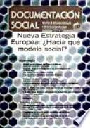 libro Nueva Estrategia Europea: ¿hacia Qué Modelo Social?