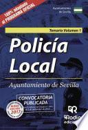 libro Policía Local. Ayuntamiento De Sevilla. Temario. Volumen 1.