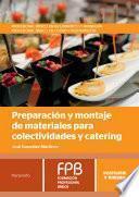 libro Preparación Y Montaje De Materiales Para Colectividades Y Catering
