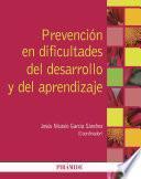 libro Prevención En Dificultades Del Desarrollo Y Del Aprendizaje