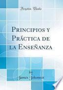 libro Principios Y Práctica De La Enseñanza (classic Reprint)