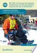 libro Procesos De Inclusión De Personas Con Discapacidad En Espacios De Ocio Y Tiempo Libre. Ssce0111