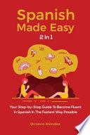 libro Spanish Made Easy 2 In 1