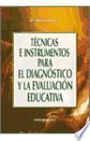 libro Técnicas E Instrumentos Para El Diagnóstico Y La Evaluación Educativa