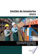 libro Uf0476   Gestión De Inventarios