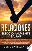 libro Relaciones Emocionales Sanas