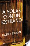 libro A Solas Con Un Extraño