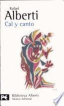 libro Cal Y Canto (1926 1927)
