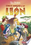 libro Cinco Amigas Y Un León