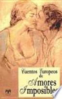 libro Cuentos Europeos De Amores Imposibles