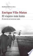 libro El Viajero Mas Lento