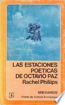 libro Las Estaciones Poéticas De Octavio Paz