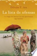 libro Lista De Ofensas (versión Hispanoamericana)