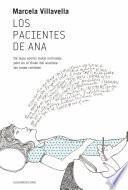 libro Los Pacientes De Ana