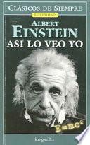 libro Asi Lo Veo Yo / As I See It