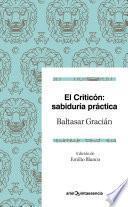 libro El Criticón: Sabiduría Práctica