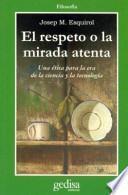 libro El Respeto O La Mirada Atenta
