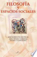 libro FilosofÍa Y Espacios Sociales