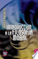libro Introducción A La Filosofía Moral