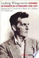 libro Lecciones Sobre Filosofía De La Psicología, 1946 1947
