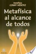 libro Metafisica Al Alcance De Todos / Metaphysics For Everyone