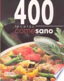 libro Come Sano. 400 Recetas