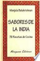 libro Sabores De La India
