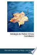 libro Antologia De Poetas Liricos Castellanos