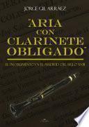 libro Aria Con Clarinete Obligado.