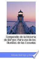 libro Compendio De La Historia De Burgos