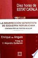 libro Diez Horas De Estat Català