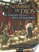 libro El Nombre De Dios