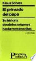 libro El Primado Del Papa