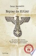 libro Espías De Hitler