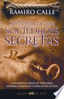 libro Historia De Las Sociedades Secretas