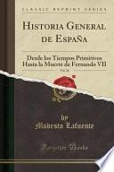 libro Historia General De España, Vol. 24
