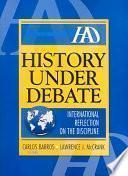 libro History Under Debate
