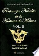 libro Personajes Notables De La Historia De México 2