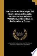 libro Spa Relaciones De Los Vireyes